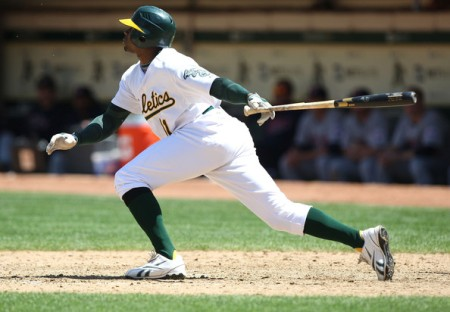 Rajai Davis is the only athletic Oakland Athletic, as judged by Joe Morgan